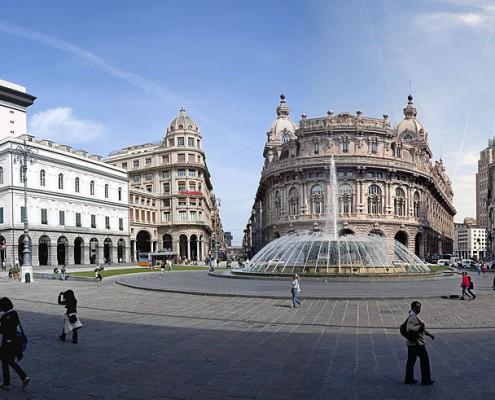 Genau Piazza di Ferrari Genova