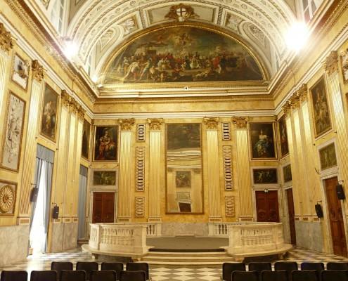 Genova Palazzo Ducale Sala Minor Consiglio
