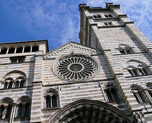 The San Lorenzo Cathedral Genova
